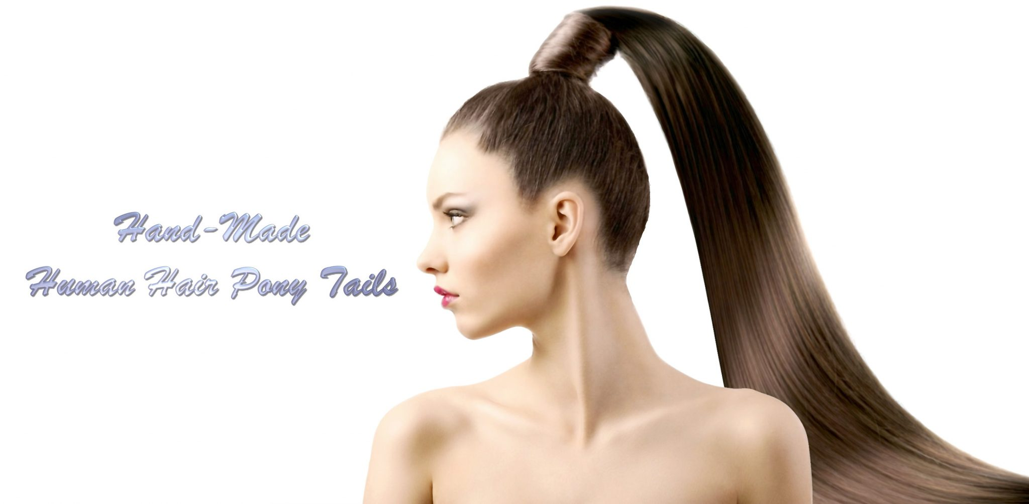 Ponytail Extensions Large Selection 100 Human Hair At The Hair Clinic